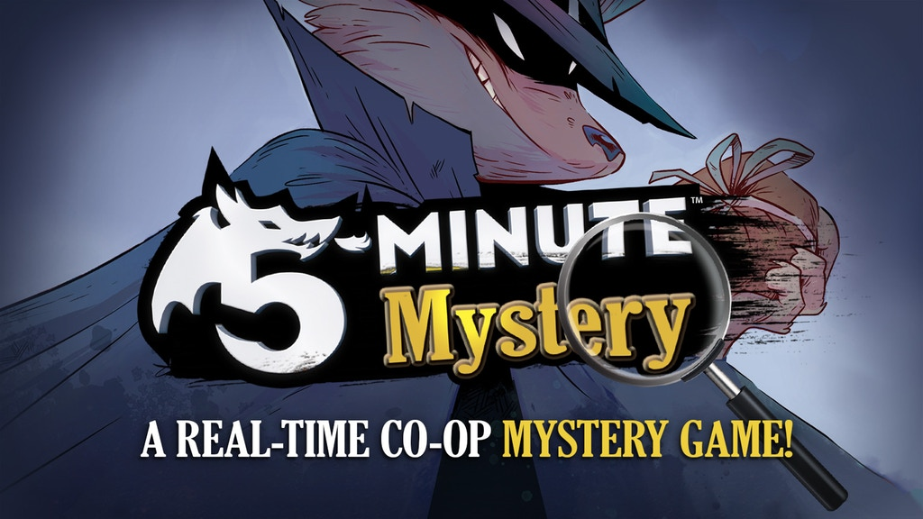 Preview: Can You Work Together to Solve a 5-Minute Mystery and Catch the Crook?