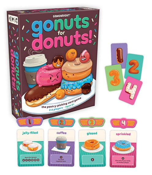 Go Nuts for Donuts Components