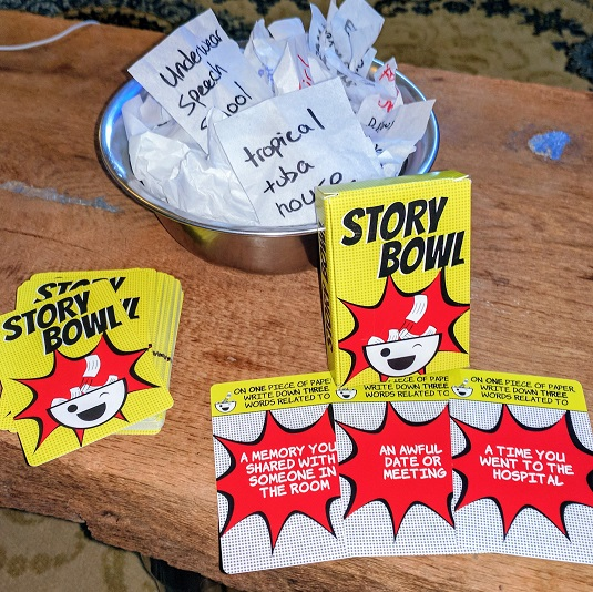 Story Bowl Components