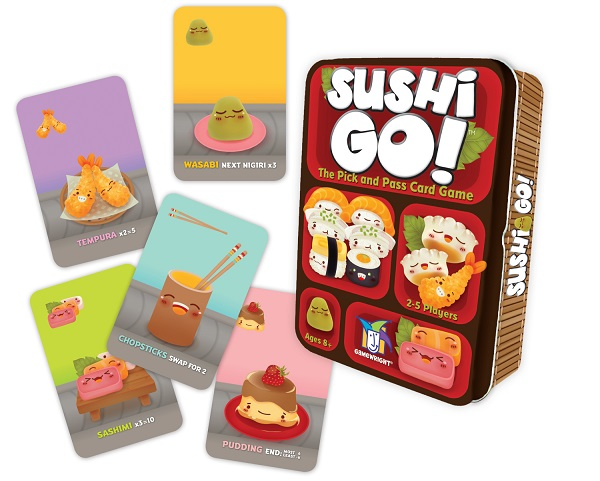 Sushi Go! Components