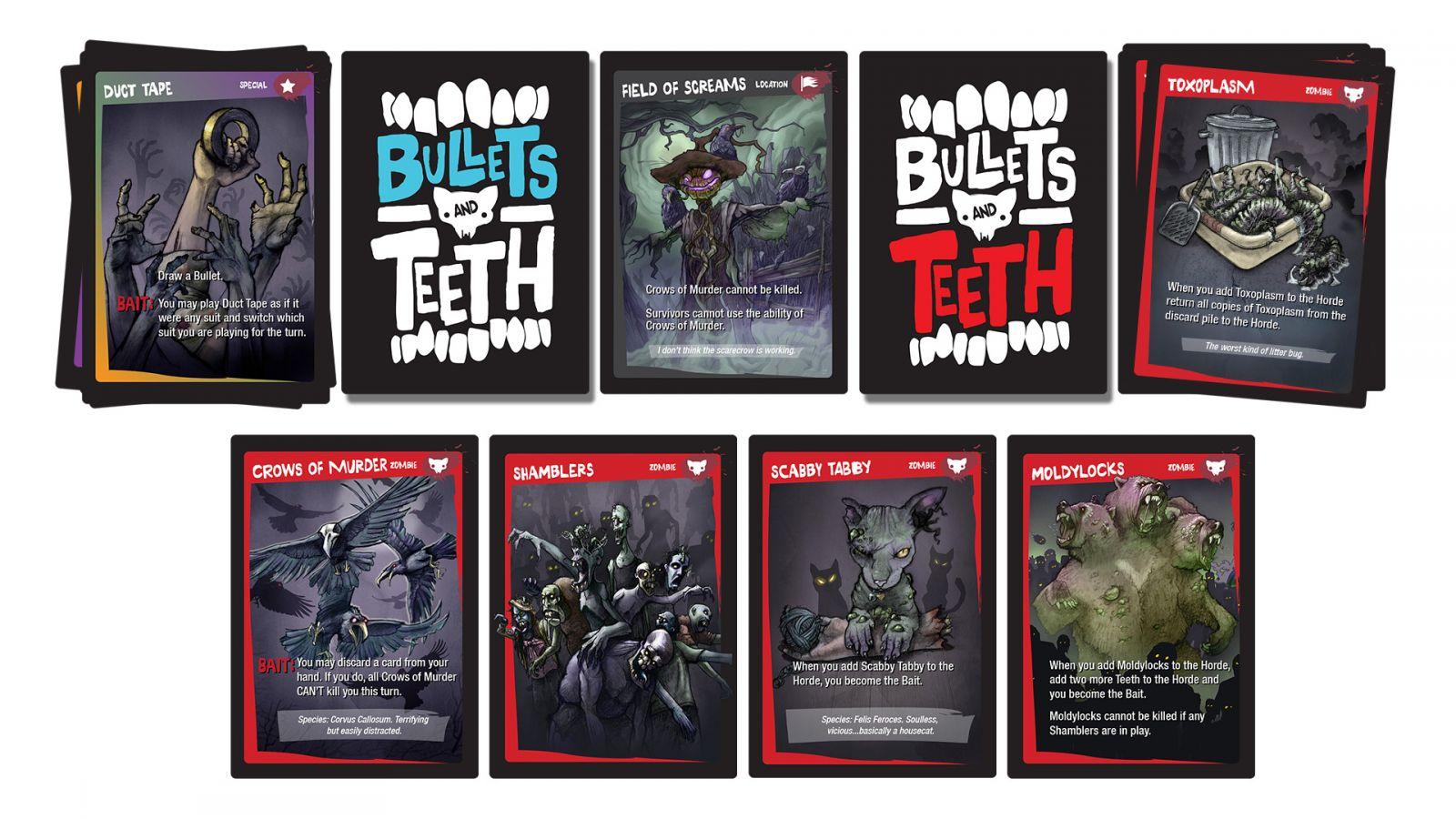 Bullets & Teeth cards