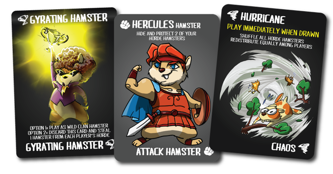Gyrating Hamsters cards