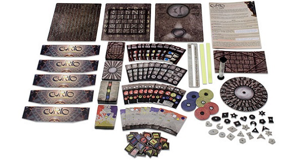 Curio: The Lost Temple Components