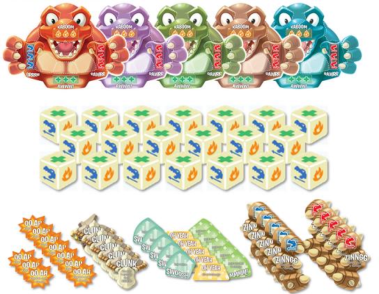 Roar-a-Saurus Components