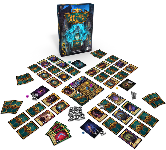 Arcane Alley components