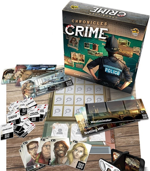 Chronicles of Crime Components