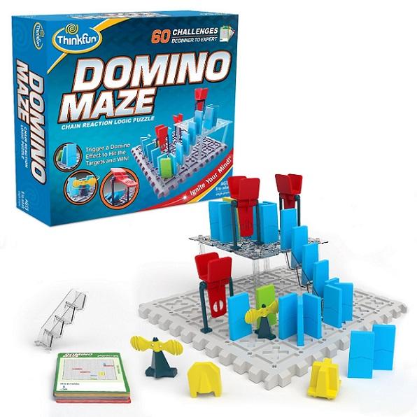 Domino Maze Components