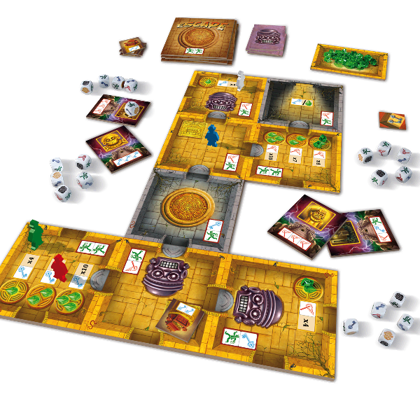 Escape: The Curse of the Temple Components