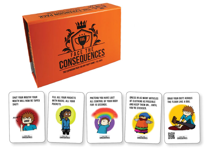 Face the Consequences cards