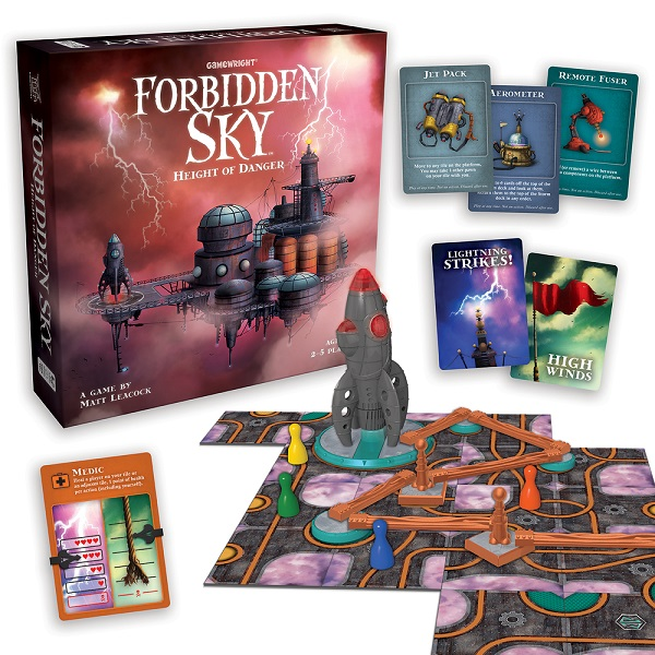 Forbidden Sky Components