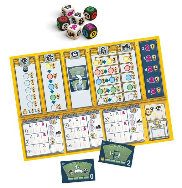 OctoDice Components
