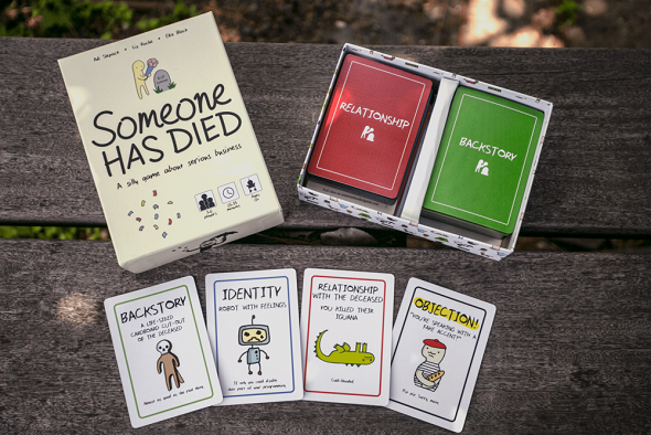 Someone Has Died Components