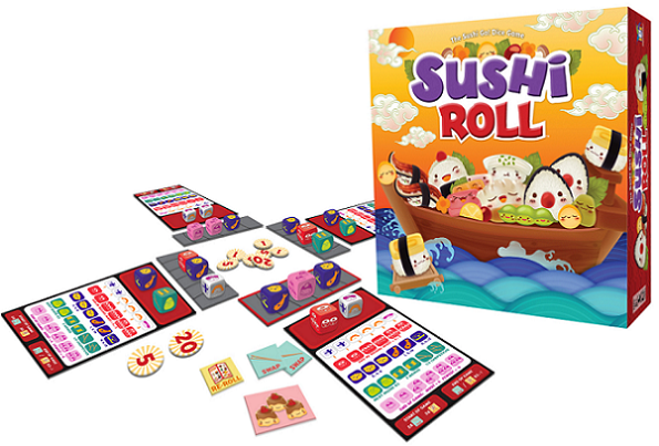 Sushi Roll Components