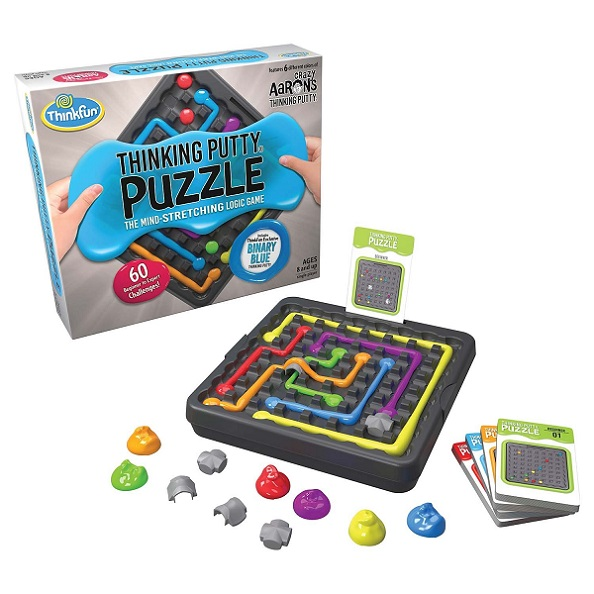 Thinking Putty Puzzle Components