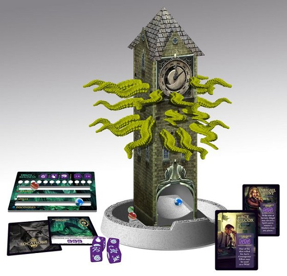 Tower of Madness Components