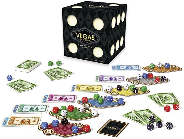 Vegas Dice Game Components