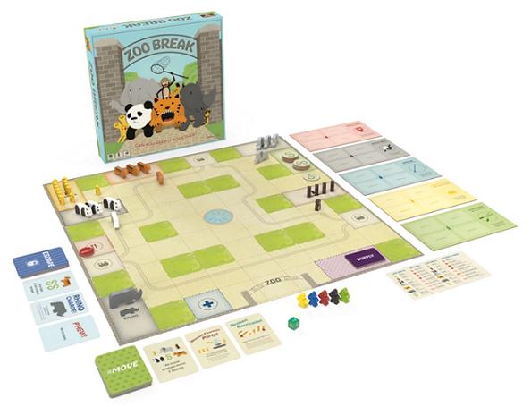 Zoo Break Components