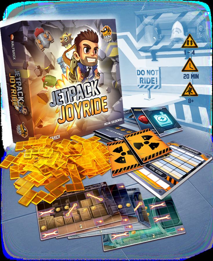 Jetpack Joyride components