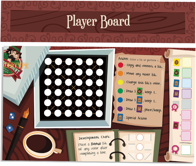 Roland Wright player board