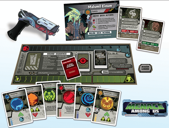 The Menace Among Us Components
