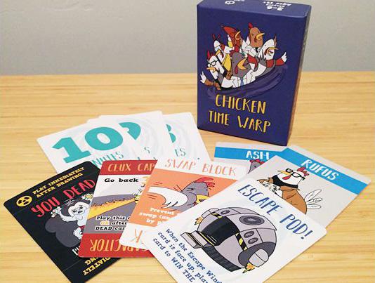 Chicken Time Warp components