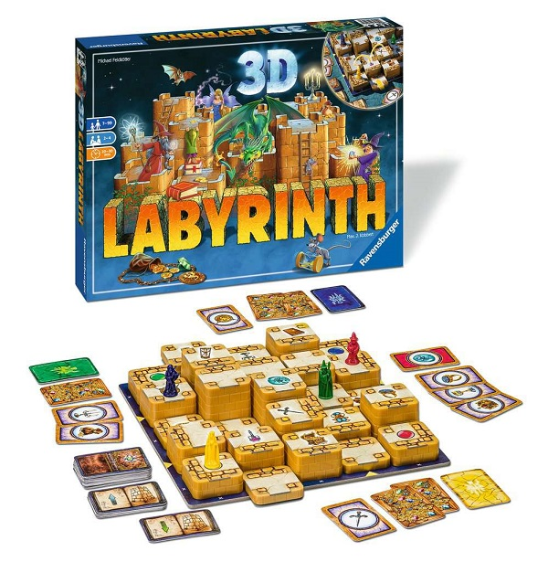 3D Labyrinth Components
