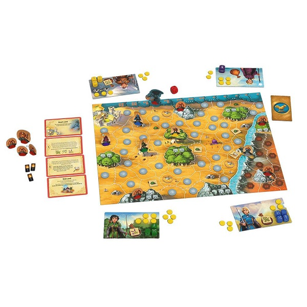 Andor: The Family Fantasy Game Components