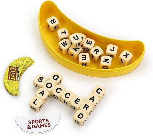Bananagrams Duel Components