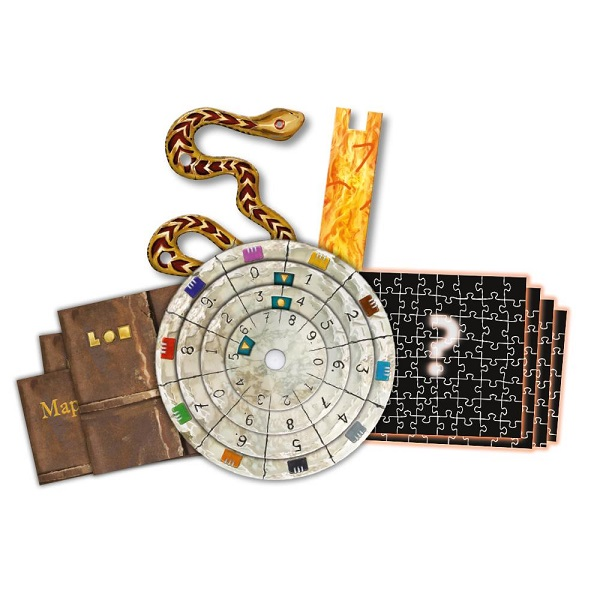 The Sacred Temple Components