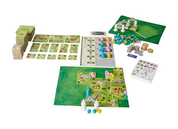 Meeple Land Components
