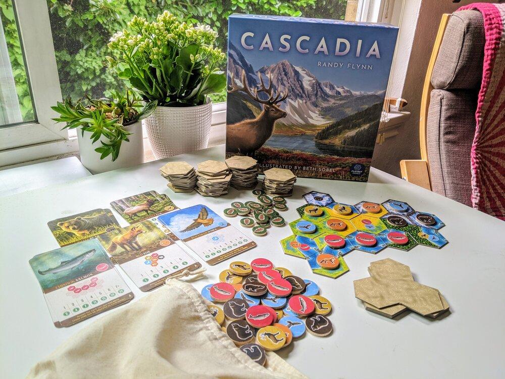 Cascadia components