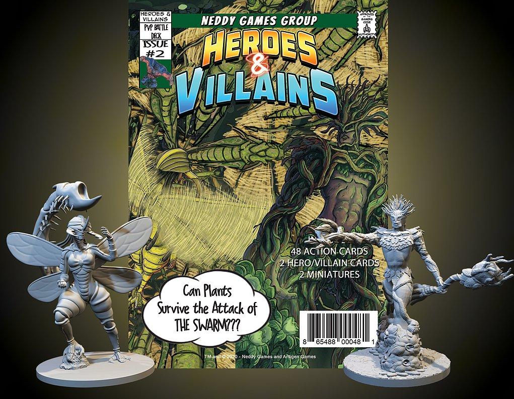 Heroes & Villains miniatures