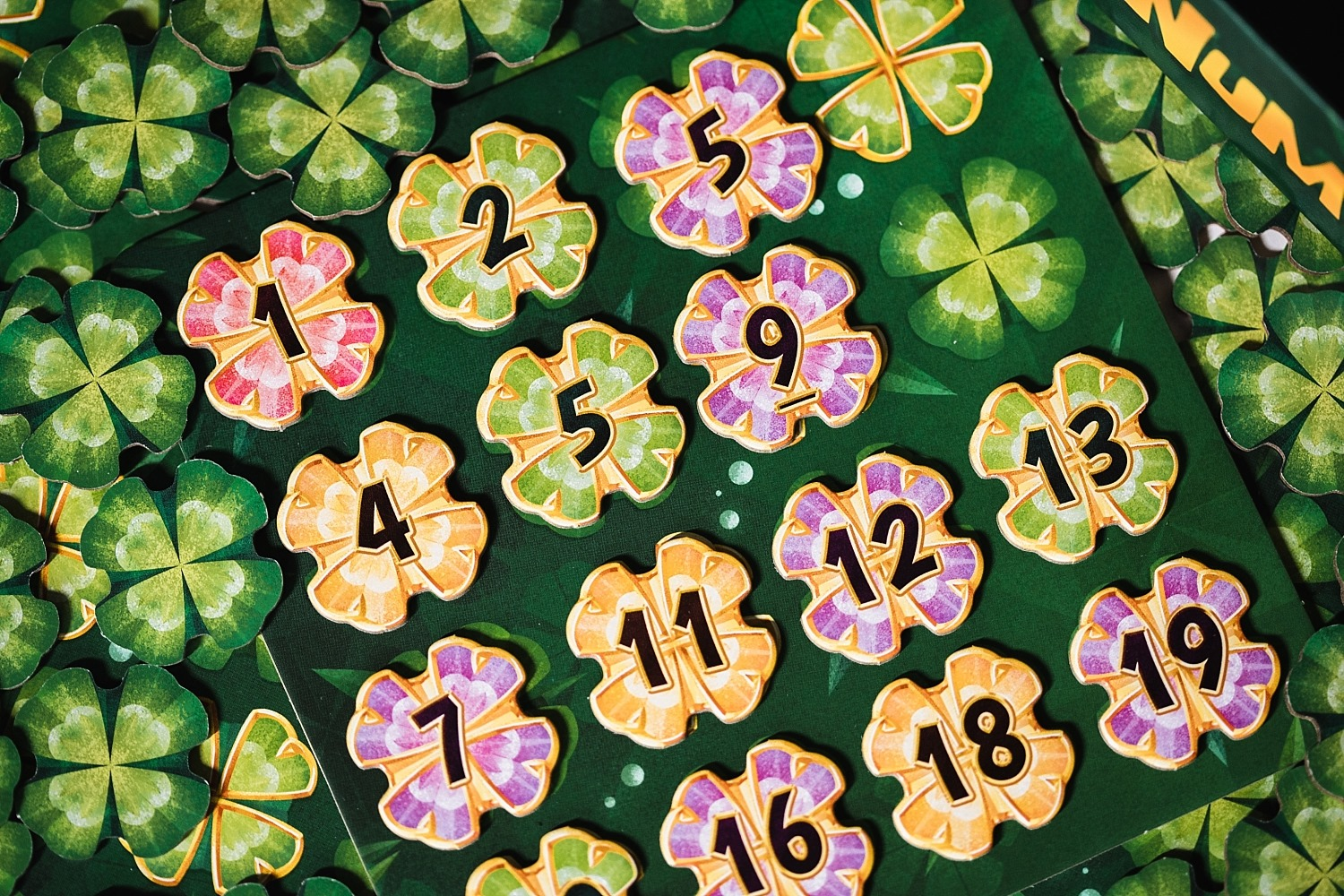 Lucky Numbers components