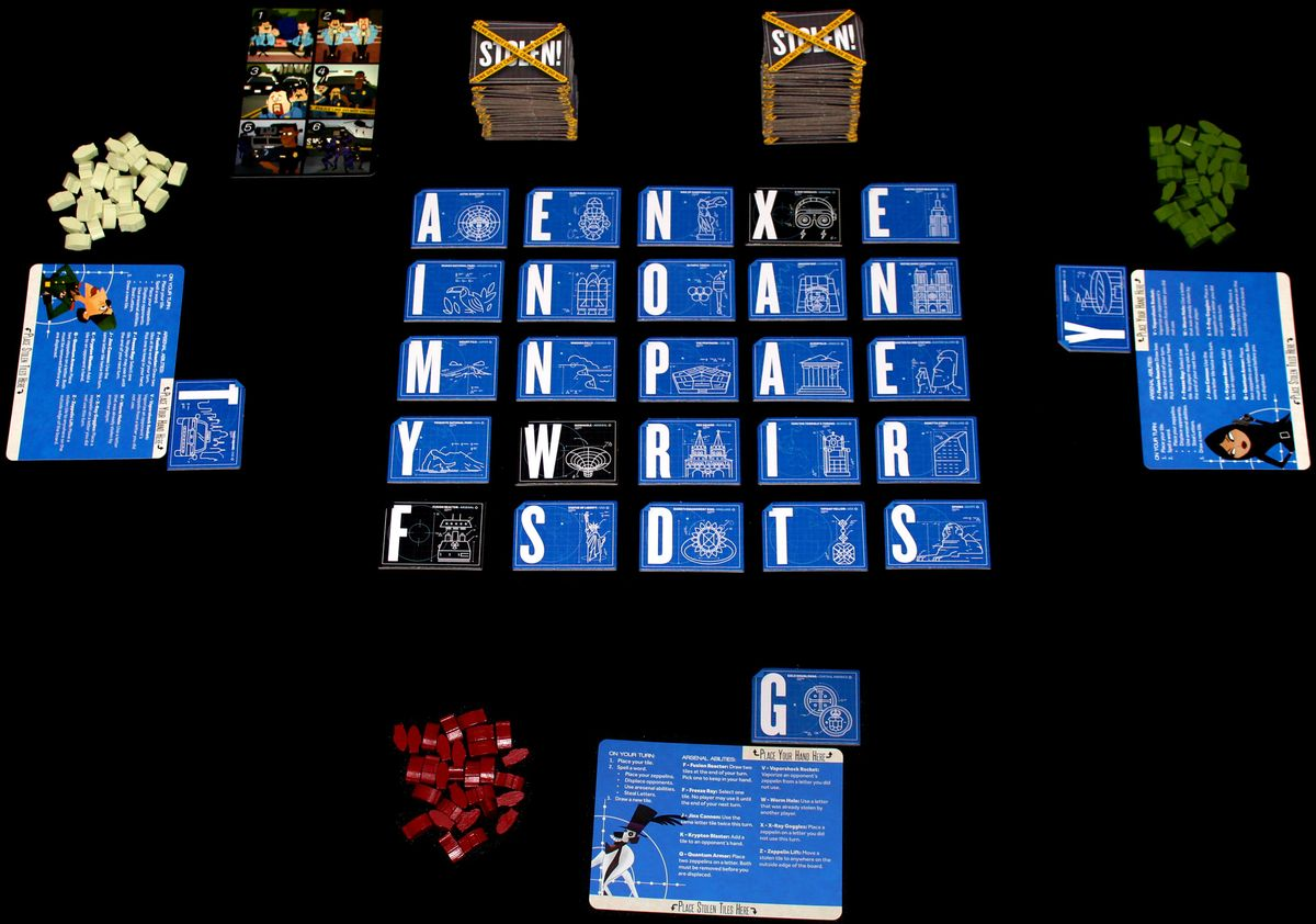 Word Domination components