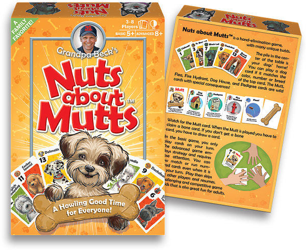 Nuts about Mutts Game Box