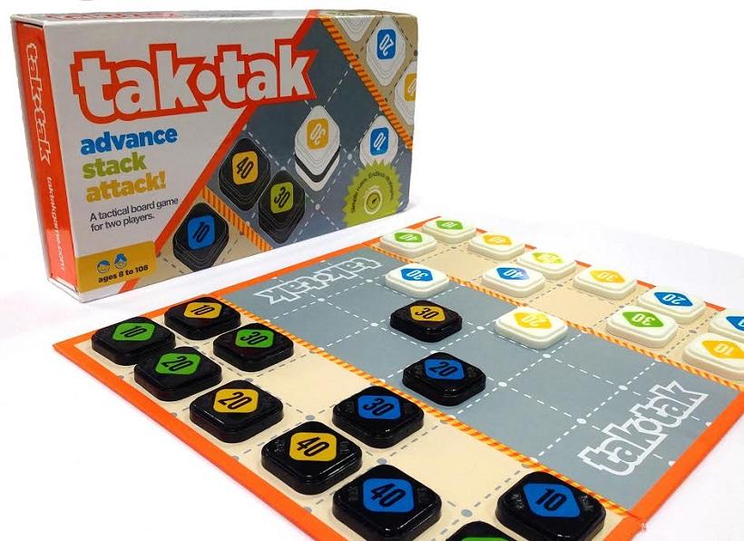 Tak-Tak Game Board and Box
