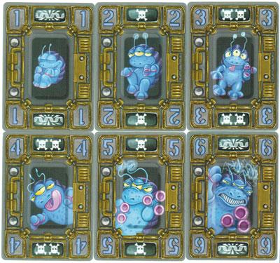 Crazy Creatures cards