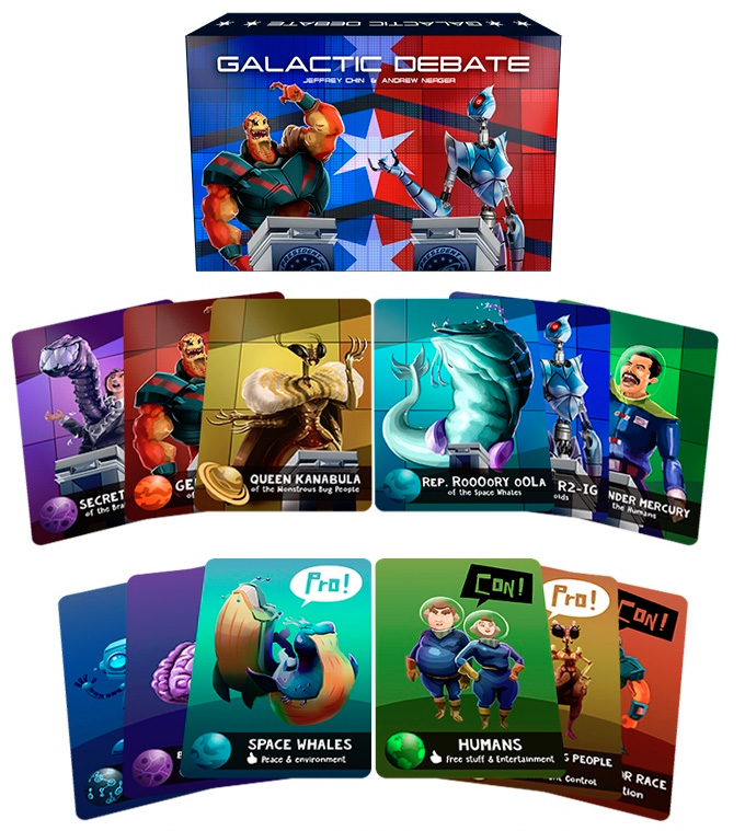 Galactic Debate Components