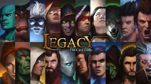 Legacy character artwork