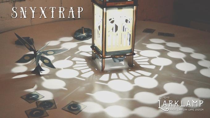 Sknyxtrap (a game for the Larklamp platform)