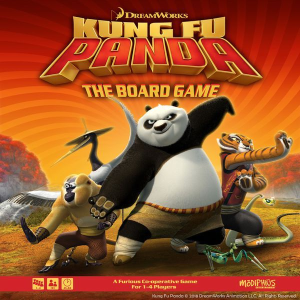 Kung Fu Panda Board Game