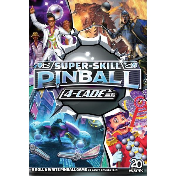 Super-Skill: Pinball 4-Cade
