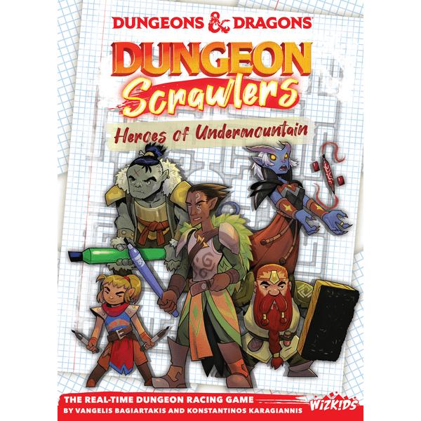 Dungeon Scrawlers: Heroes of Undermountain