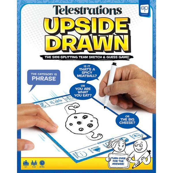 Telestrations: Upside Drawn