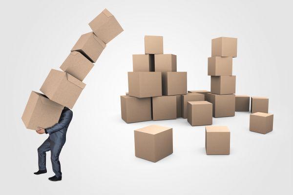 Businessman Boxes