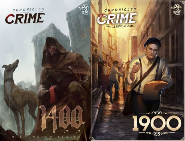 Chronicles of Crime: 1400 and 1900