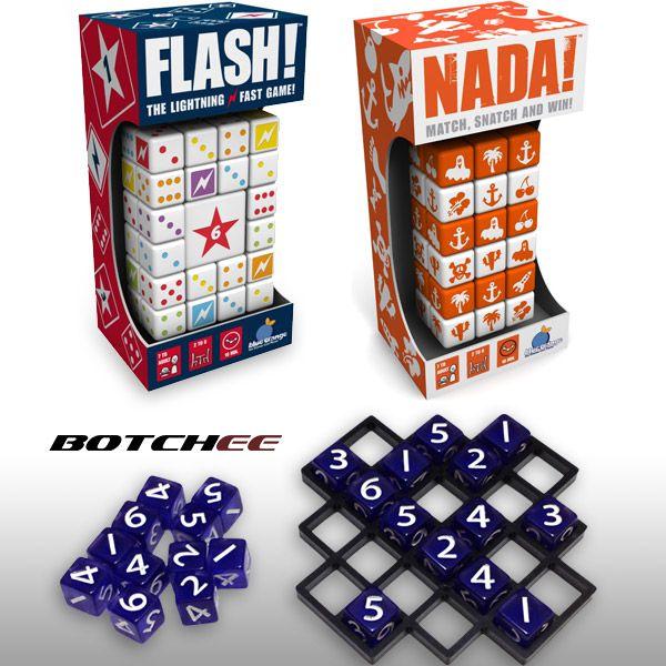 Flash!, Nada!, and Botchee