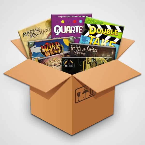 Big Box O' Games Giveaway #4