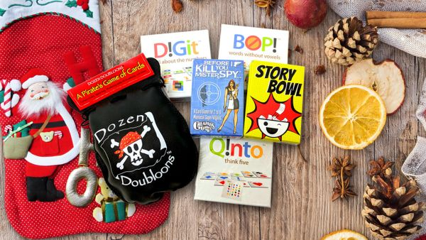 Stocking Stuffer Games Giveaway