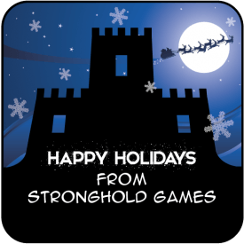 Stronghold Games Christmas Logo